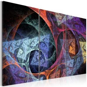 Kuva - Mysterious colors abstraction-1