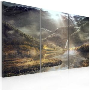 Kuva - The land of mists - triptych-1