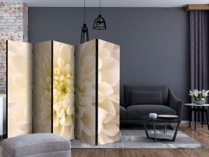 Sermi - White dahlia II [Room Dividers]-2