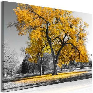 Kuva - Autumn in the Park (1 Part) Wide Gold-1