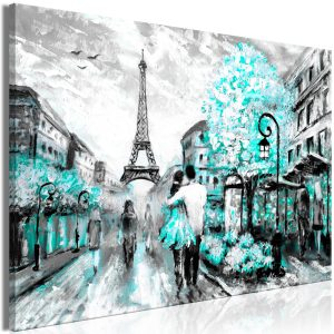 Kuva - Colourful Rendez-Vous (1 Part) Wide Turquoise-1