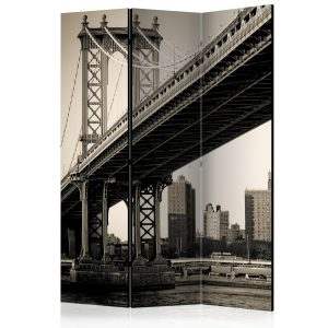 Sermi - Manhattan Bridge, New York [Room Dividers]-1