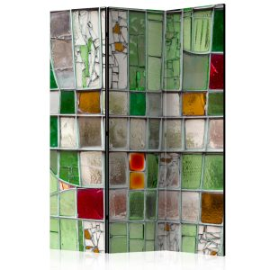 Sermi - Emerald Stained Glass [Room Dividers]-1