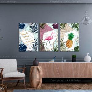 Kuva - Tropical Triptych (3 Parts)-2