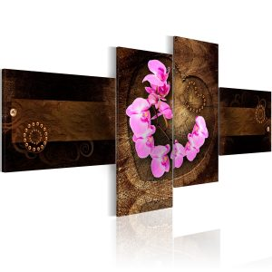 Kuva - Orchid and wood-1