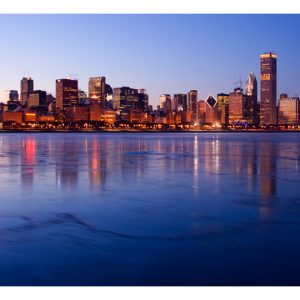 Fototapetti - Icy Downtown Chicago-2