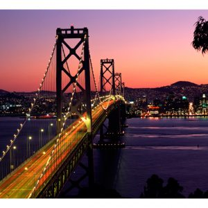 Fototapetti - Charming evening in San Francisco-2