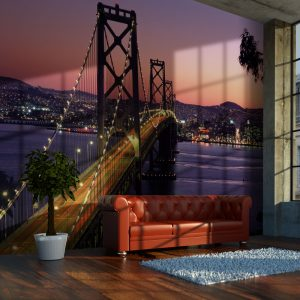 Fototapetti - Charming evening in San Francisco-1