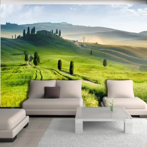 Fototapetti - Morning in the countryside-1