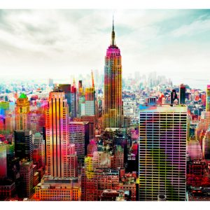 Fototapetti - Colors of New York City-2