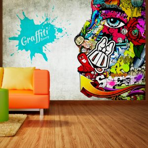 Fototapetti - Graffiti beauty-1