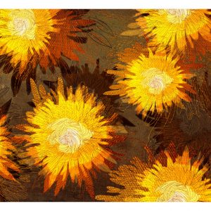 Fototapetti - Sunflower dance-2