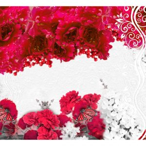 Fototapetti - Colors of spring: red-2