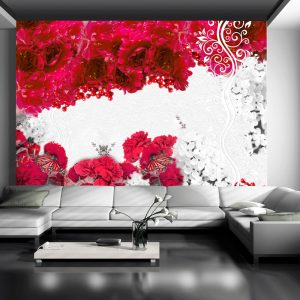 Fototapetti - Colors of spring: red-1