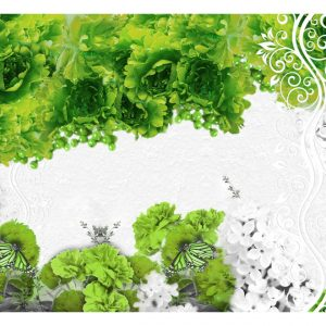 Fototapetti - Colors of spring: green-2