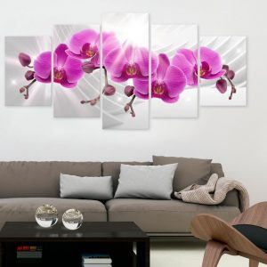 Kuva - Abstract Garden: Pink Orchids-2