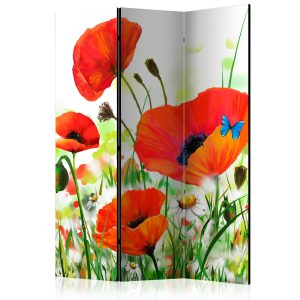 Sermi - Country poppies [Room Dividers]-1