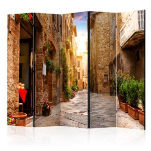 Sermi - Colourful Street in Tuscany II [Room Dividers]-1