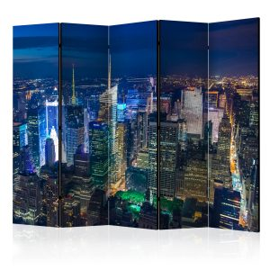 Sermi - Manhattan - night II [Room Dividers]-1