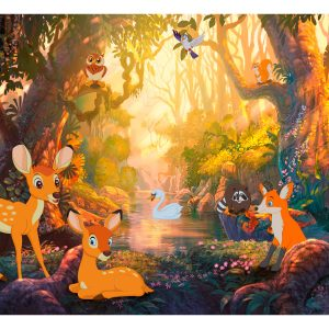Fototapetti - Animals in the Forest-2
