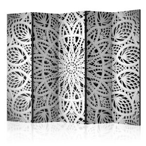 Sermi - White Mandala II [Room Dividers]-1