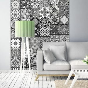 Fototapetti - Arabesque - Black& White-1