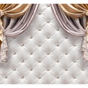 Fototapetti - Curtain of Luxury-2