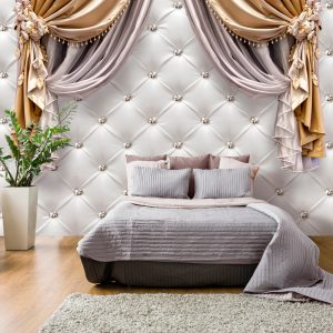 Fototapetti - Curtain of Luxury-1