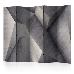 Sermi - Abstract concrete blocks II [Room Dividers]-1