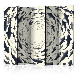 Sermi - Fish Swirl II [Room Dividers]-1