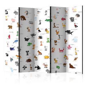 Sermi - animals (for children) II [Room Dividers]-1