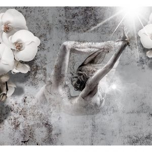Fototapetti - Arrangement with orchid-2