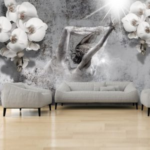 Fototapetti - Arrangement with orchid-1