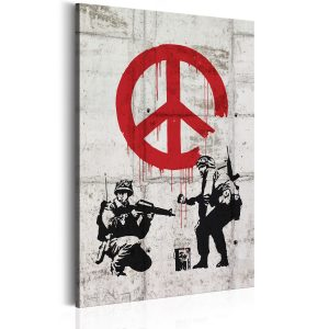 Kuva - Soldiers Painting Peace by Banksy-1