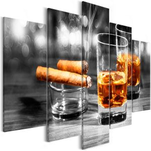 Kuva - Cigars and Whiskey (5 Parts) Wide-1