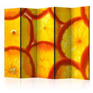 Sermi - Orange slices II [Room Dividers]-1
